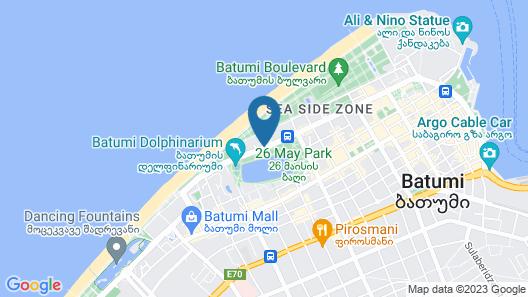Bellevue Residence Batumi Map