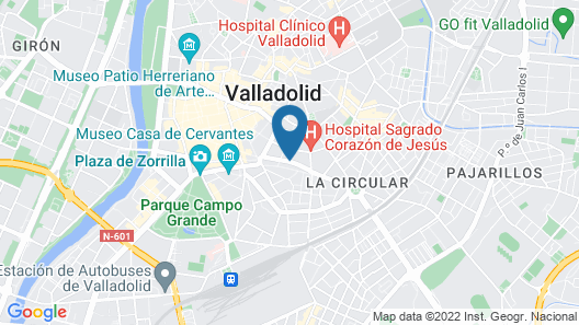INSIDEHOME Valladolid Centro Map