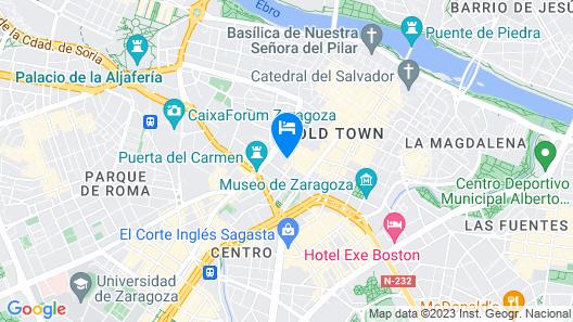 Hotel Palafox Map
