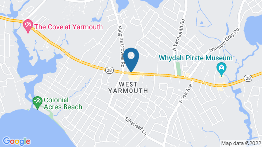 Cape Cod Family Resort and Inflatable Park Map