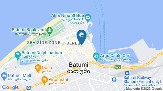Divan Suites Batumi Map
