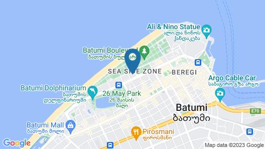 Sheraton Batumi Hotel Map