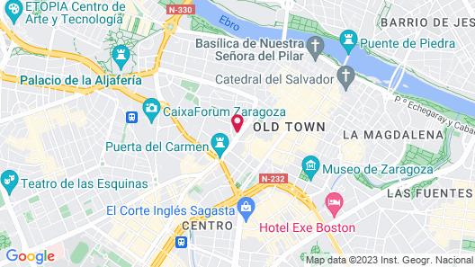 INNSiDE by Melia Zaragoza Map