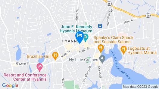 Cape Cod Inn Map