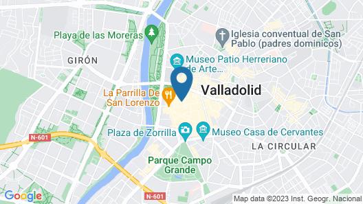 Calixto Fernández de la Torre 2 Map