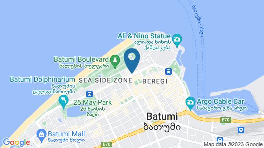 Intourist Batumi Hotel & Casino Map
