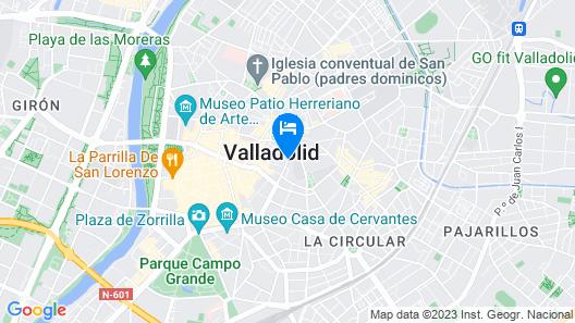 Hotel Zenit Coloquio Map