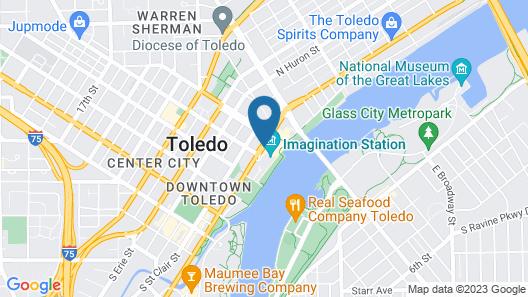 Renaissance Toledo Downtown Hotel Map