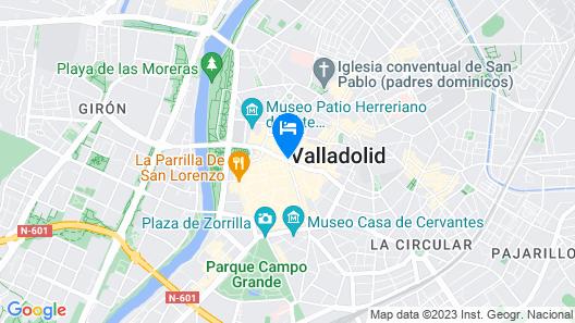 Hostal Paris Map