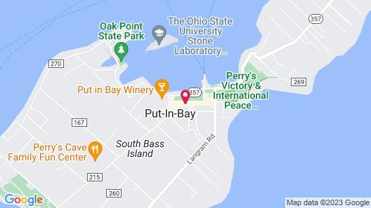 Commodore Resort Map