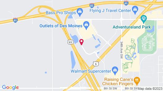 Fairfield Inn & Suites Des Moines Altoona Map