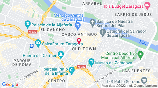 Hotel Alfonso Map
