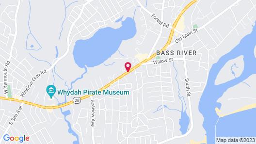 Bass River Motel Map
