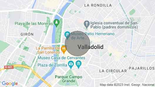 DUPLEX ÚNICO EN VALLADOLID EN PLENO CENTRO Map
