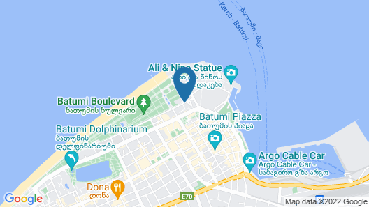 Radisson Blu Hotel Batumi Map