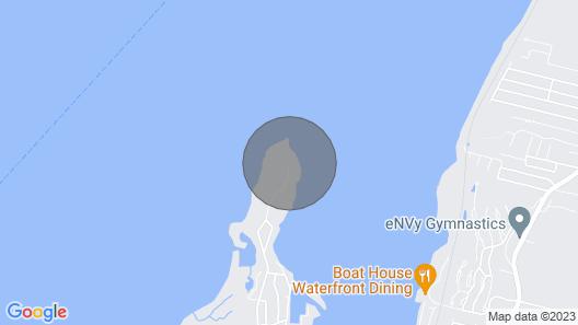 Coastal Portsmouth Home w/ Bay Access Near Newport Map