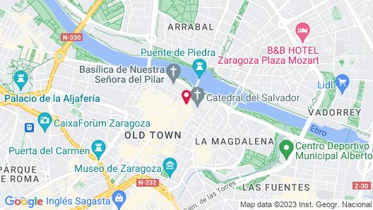 Apartamentos Sabinas Don Jaime Map
