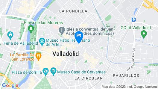 Hostal Mónaco Map