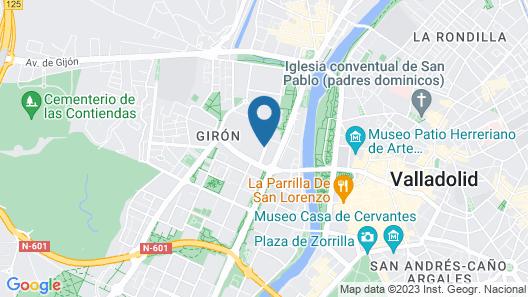 Hotel Feria Map