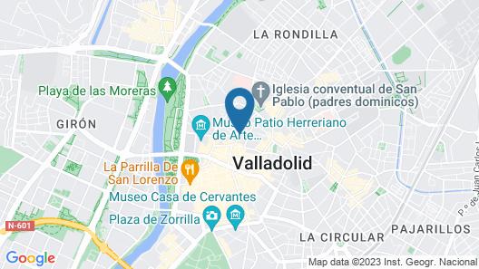 Hotel Olid Map