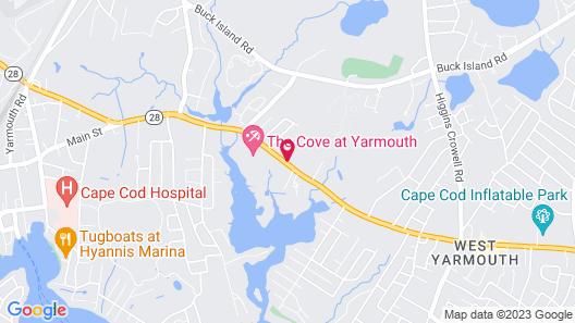 Howard Johnson by Wyndham West Yarmouth/Cape Cod Map