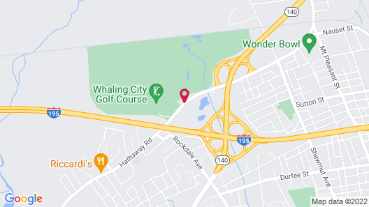 Whaler Inn and Suites Map