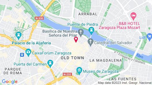 Dos Torres Pilar Suites Map