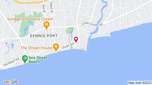 Edgewater Beach Resort, a VRI resort Map