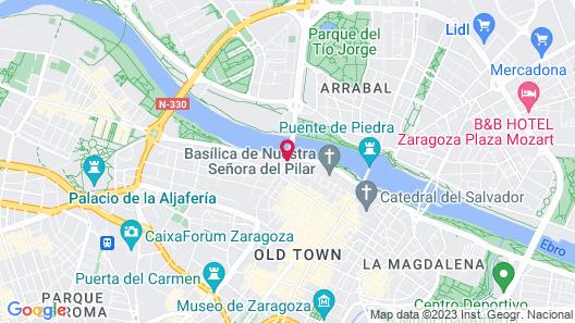 NH Ciudad de Zaragoza Map