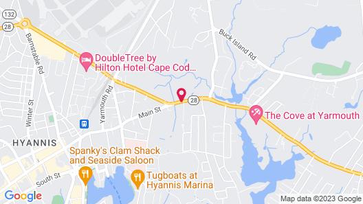 Super 8 by Wyndham W Yarmouth Hyannis/Cape Cod Map