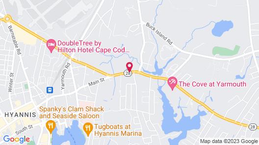 Days Inn by Wyndham West Yarmouth/Hyannis Cape Cod Area Map