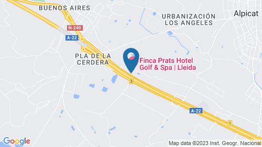 Finca Prats Hotel Golf & Spa Map