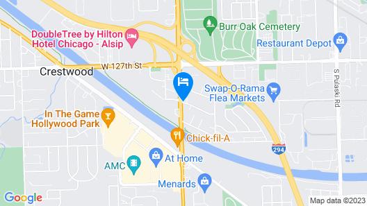 Baymont by Wyndham Chicago/Alsip Map