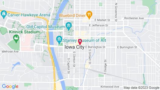 Graduate Iowa City Map