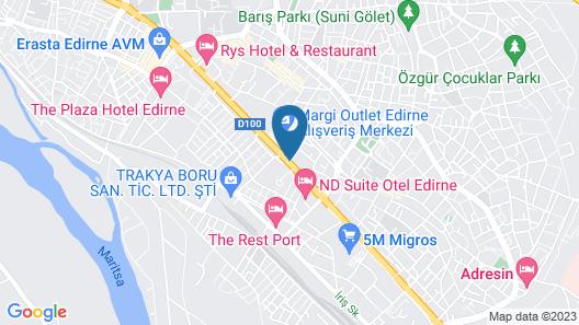 Margi Hotel Map