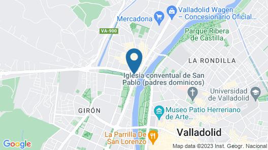 Marqués de la Ensenada Map