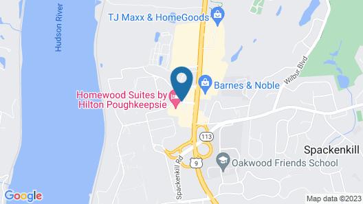 Homewood Suites by Hilton Poughkeepsie Map