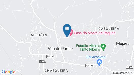 Quinta da Bouça d'Arques Map