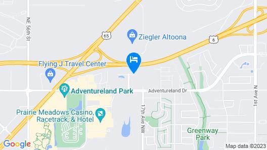 La Quinta by Wyndham Altoona Des Moines Map