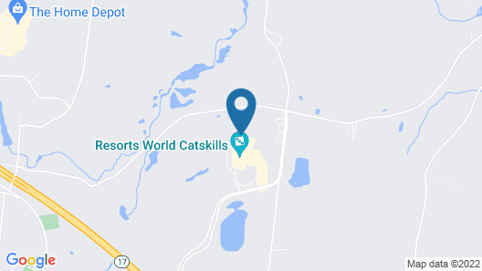 Resorts World Catskills Casino Map