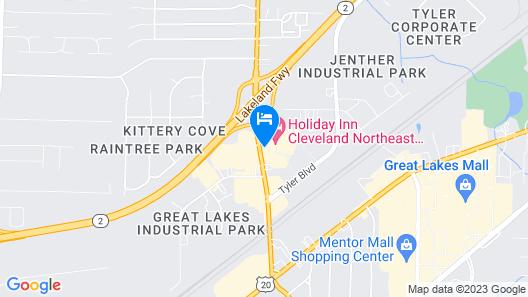 Holiday Inn Cleveland Northeast - Mentor, an IHG Hotel Map