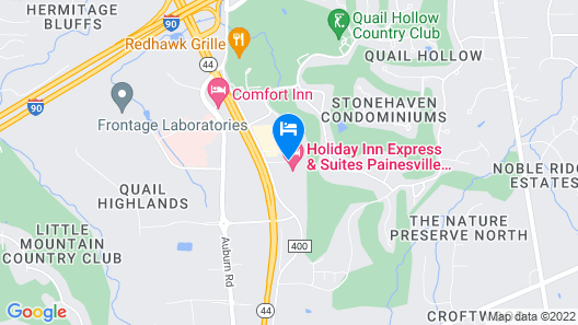 Holiday Inn Express And Suites Painesville - Concord, an IHG Hotel Map