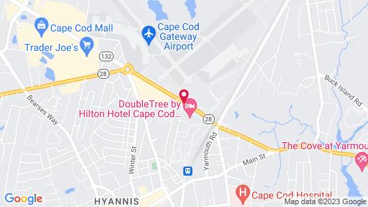 Doubletree by Hilton Cape Cod - Hyannis Map