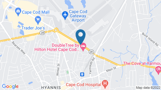 Doubletree by Hilton Cape Cod - Hyannis Map