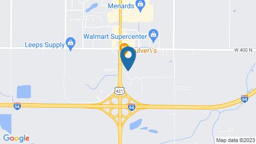 Hampton Inn & Suites Michigan City Map