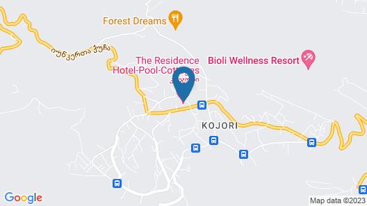 The Vorontsovs - Hotel & Cottages Map