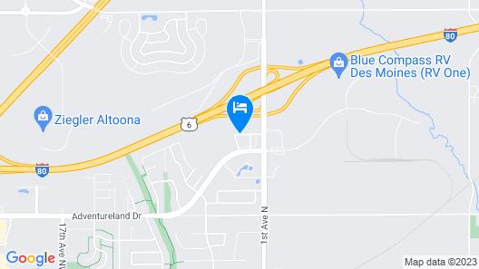 Hampton Inn & Suites Altoona - Des Moines Map