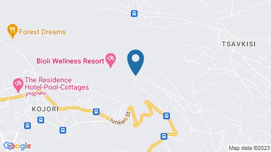 Bioli Medical Wellness Resort Map