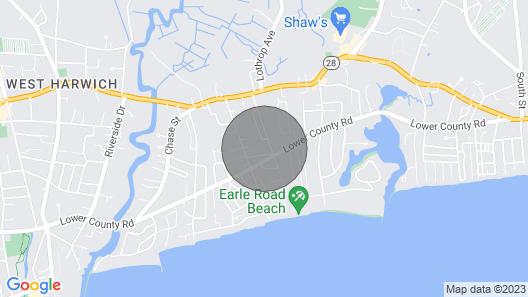 West Harwich Duplex-Port Side/walk to beach Map