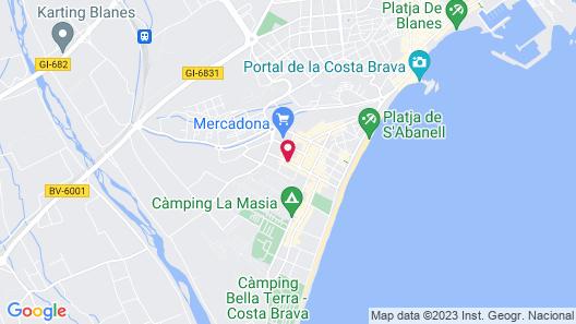 Hotel Esplendid Map